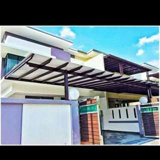Grill poly& stansteel.awning...call me..