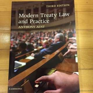 Modern Treaty Law & Practice (Anthony Aust)