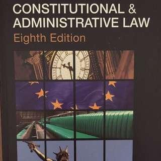Constitutional & Administrative Law (Barnett)
