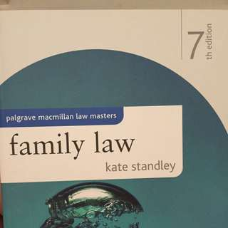 Family Law (7th Eds)
