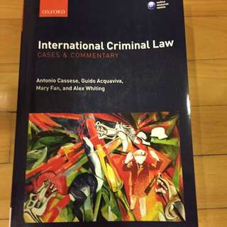 International Criminal Law (cases & Commentary)