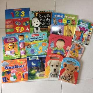 Bundle of 12 Board Books