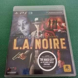 PS 3 L.A. NOIRE (Original,Used)