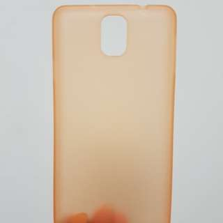 Case Ultrathin Samsung Galaxy Note 3 (Translucent Orange)