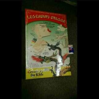 全新 Legendary Dragon 3D 木製龍模型一盒 (中國龍) Faner-castell Creativity for Kids