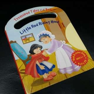 $10 ~ Story Book Treasured Tales Little Red Riding Hood 兒童小紅帽英文故事書