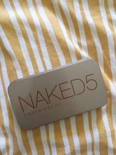Naked Make-up Brush Set Travel Friendly