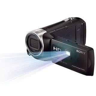 Kredit Sony HDR-PJ410 Handycam Camcorder with Built-In Projector Dp ringan tanpa Cc