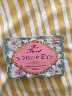 Too Faced Summer Eyes Pallette
