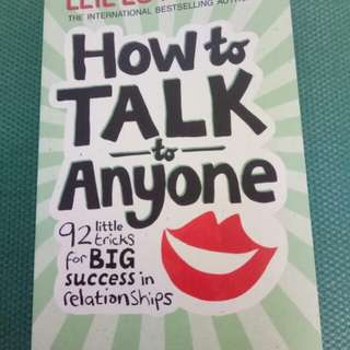 Leil Lowndes- How to Talk to Anyone