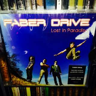 Faber Drive-Lost in Paradise CD(Sealed)