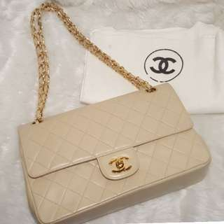 Authentic Chanel Medium Double Flap (Vintage)