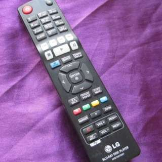 LG AKB73375501 BLU-RAY PLAYER Remote Control 原裝正貨遙控器