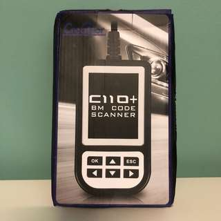 Creator C110+ V4.7 for BMW Code Reader Scanner OBD2