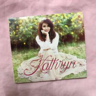 Kathryn Bernado's first album
