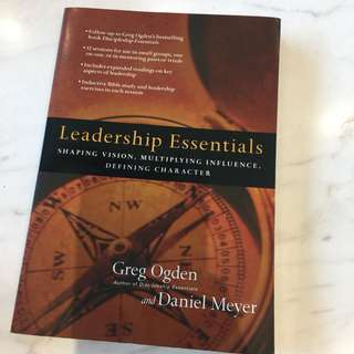 Leadership Essentials by Greg Ogden