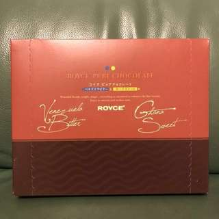 全新日本Royce Pure Chocolate (Venezuela Bitter & Ghana Sweet) [Cacao 69% & 60%]