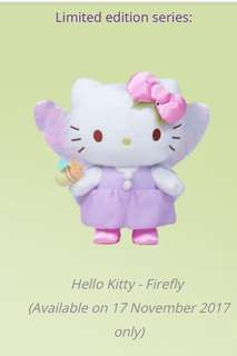 Limited Edition Hello Kitty Firefly Changi Airport