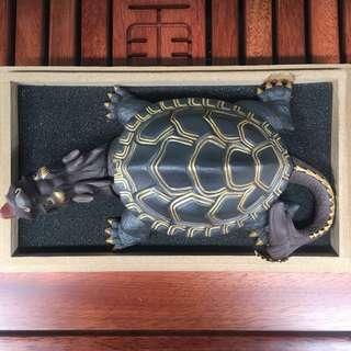 宜興紫砂純手工龍龜茶寵 約20cm