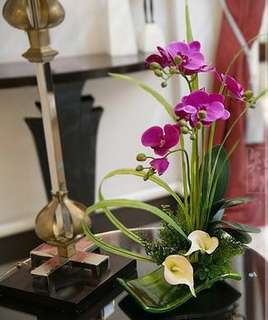 FREE Delivery - Eternal Orchids on a Platter