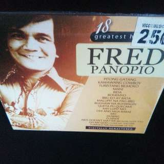 Fred Panopio	-	18 Greatest Hits CD 	(Sealed)
