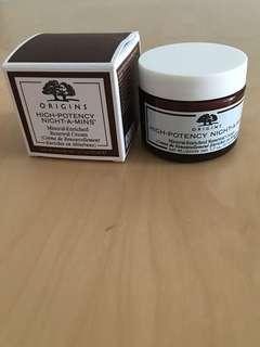Origins High Potency Night A Mins Moisturizer Cream