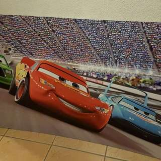Disney Cars Sintra Standees (used once in a party)