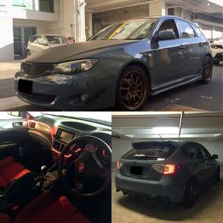 Subaru Impreza 5DR For Rent