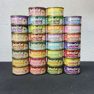 Atas cat canned food 80gr all flavours.