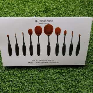 Multipurpose Makeup Brushes
