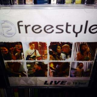 Freestyle	-	Live @ 19 East CD (Sealed)