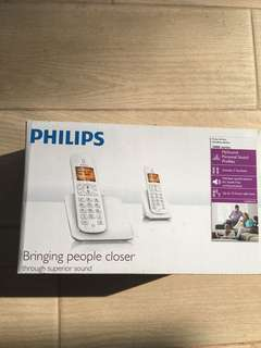 Philips Cordless Phone dual handset
