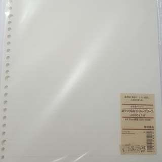 WTS Muji Loose Leaf Lined Paper