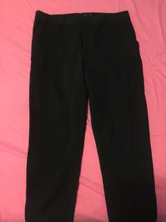 Stradivarius navy pants