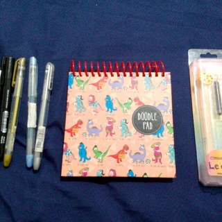 Take All! doodle pad and pens