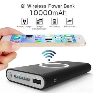 [ORIGINAL]10000mAh QI Wireless Charger Power Bank