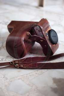 Sony A6000 Synthetic Leather Case