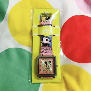 香港迪士尼 米奇手錶 disney#超取再七折