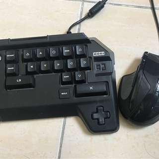 Hori Tactical Assault PS4 Keyboard Mouse Controller