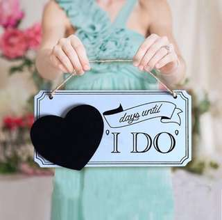 [SALE] Till I Do Signage - Wedding Decor / Pre-wedding Prop Photoshoot / Brides / Bridal Decor