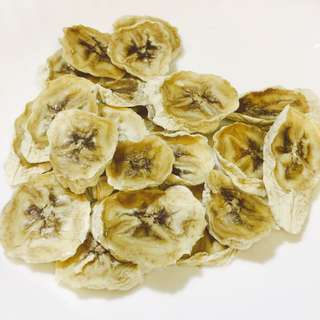自家製天然香蕉乾