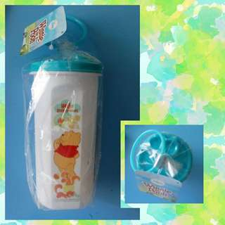 Bless give away Winnie the Pooh bottle