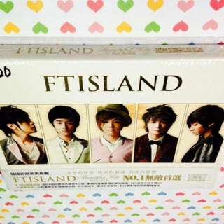 FTISLAND-Beautiful Hits for Asia (CD+DVD)(Sealed)