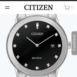 Citizen Axiom Eco drive brand new