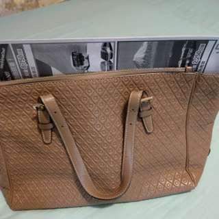 TOD'S lady shoulder bag, beige