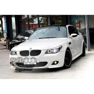 2004 BMW E60 520 改3.0L 自改手 白