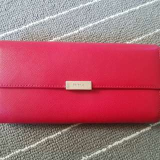 Dompet Furla authentic red