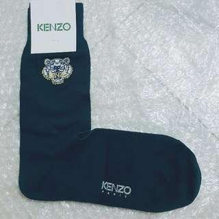 Kenzo logo signature  男裝深藍襪 navy