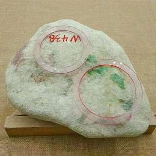 翡翠原石賭石 木拿色料3.2公斤