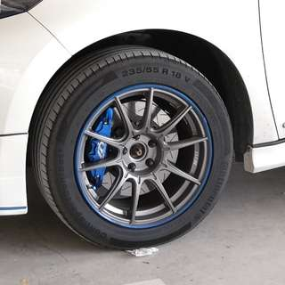 "Original Made in Japan SSR 18"" Racing Rims"